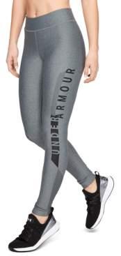 Under Armour Women's HeatGear Armour Graphic Leggings