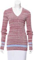 Nomia V-Neck Mélange Sweater