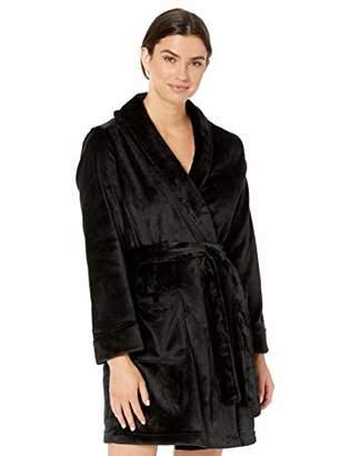 Amazon Essentials Women's Mid-Length Plush Robe