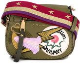 Marc Jacobs small Nomad patchwork saddle bag - women - Nylon - One Size