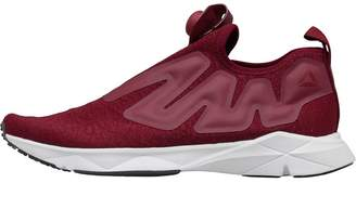 Reebok Pump Supreme Neutral Running Shoes ICE-Rustic Wine/Cranberry Red/Black/White