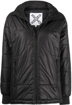 Kenzo Stitched Puffer Jacket