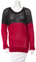 Etoile Isabel Marant Bicolor Knit Sweater