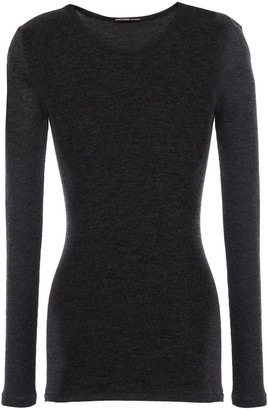 James Perse Ribbed Cashmere Top