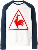Le Coq Sportif logo print tennis sweatshirt