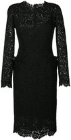 Ermanno Scervino lace embroidered midi dress