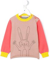 Stella McCartney 'Lucky' rabbit jumper