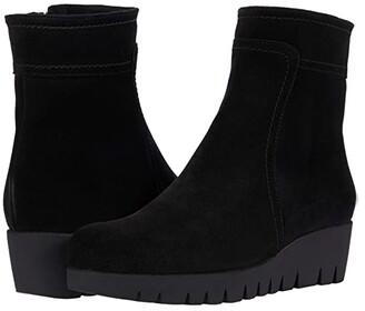 La Canadienne Token (Black Suede) Women's Boots