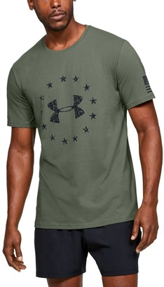 Under Armour Men's UA Freedom Logo Short Sleeve