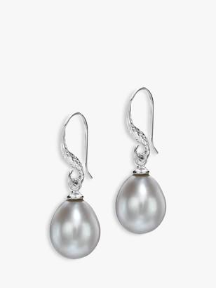 Dower & Hall Baroque Pearl Drop Earrings