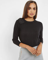CALLAH Oversized bow sweater