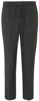 Joseph Cropped wool-blend trousers