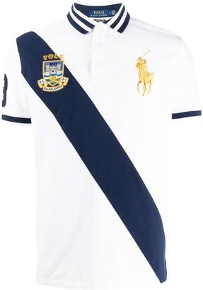 Polo Ralph Lauren Diagonal Stripe Polo Shirt