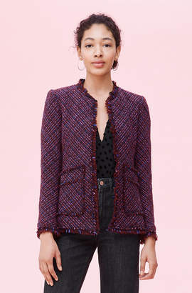 Rebecca Taylor Multi Tweed Jacket