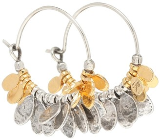 Isabel Marant Embellished hoop earrings