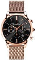 Thomas Sabo Eternal Rebel Chronograph Rose Tone Stainless Steel Mesh Bracelet Watch