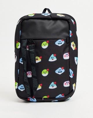 Nike Advance Air Emoji crossbody bag in black