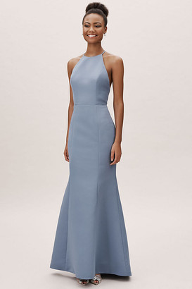 BHLDN Caroline Dress By in Blue Size 14