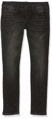 MEK Girl's Jeans Jacquard Stretch