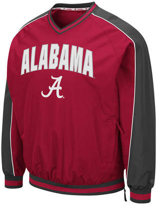 Colosseum Men Alabama Crimson Tide Duffman Windbreaker Jacket