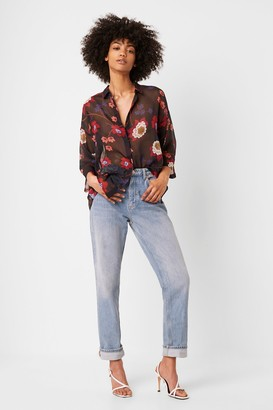 French Connection Eloise Crinkle Shirt