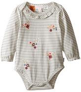 Pumpkin Patch Kids Stripe Long Sleeve Bodysuit (Infant)