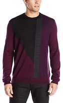 Calvin Klein Men's Merino Acrylic Crew Neck Sweater