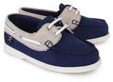 Hackett Suede Colour Block Boat Shoe