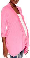 Asstd National Brand Long Sleeve Cardigan-Maternity
