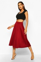 Boohoo Arianna Plain Full Circle Midi Skirt