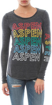 Chaser Aspen Long Sleeve Crew Neck Tee