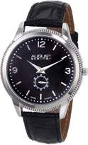 August Steiner Men's ASA820SS Swiss Quartz Classic Dress Strap Watch