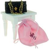 Black Quilted Designer Handbag for 18'' Doll