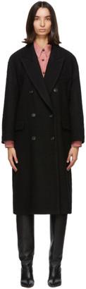 Etoile Isabel Marant Black Ojima Coat