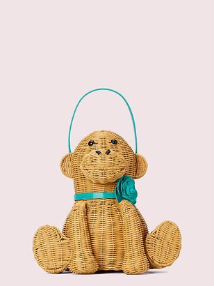 Kate Spade Georgia Wicker Monkey Bag