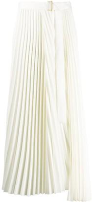 Parlor High-Waisted Pleated Skirt