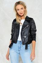 Nasty Gal nastygal Honeymoon Vegan Leather Jacket