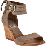 Miz Mooz As Is Leather Wedges with Buckle and Tie Detail-Kiani