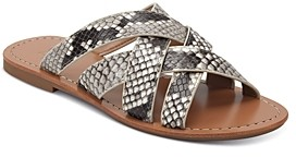 Marc Fisher Women's Roony Snake Print Sandals