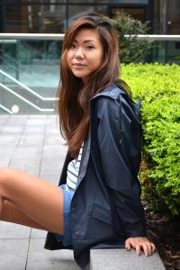 Rains Blue Jacket - XS/S - Blue