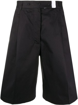 Maison Flaneur Knee-Length Tailored Shorts