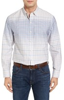 Tommy Bahama Men's Ponte Vedra Ombre Check Cotton & Silk Sport Shirt