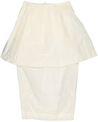 Simone Rocha Ecru Skirt for Women
