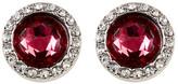 Rebecca Minkoff Crystal Halo Stud Earrings