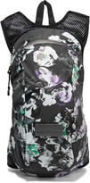 adidas by Stella McCartney Floral-print shell and mesh backpack