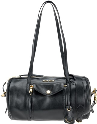Miu Miu Grace Lux-leather Top Handle Bag