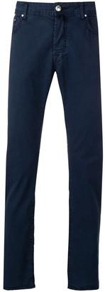 Jacob Cohen high waist five pocket trousers