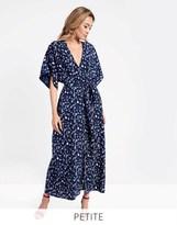 Glamorous Printed Split Front Maxi Dress