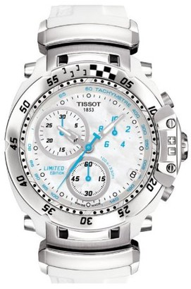 Tissot Women's Quartz Watch with Silver T Race T0274171711100