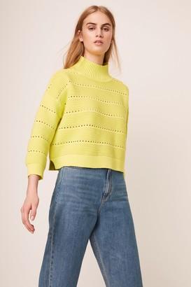 French Connenction Liliya Mozart Knits Lace Sweater